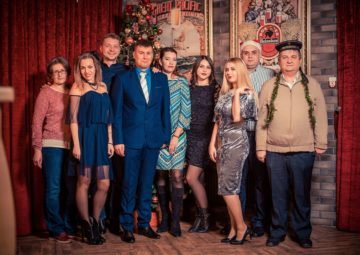 Zaliv Ship Design New Year Party 2018 in Daily Sport