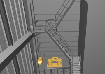 Floating-Dock-Stairs-Otfitting