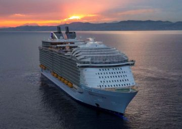 cruise ship, cruise vessel, harmony of the seas