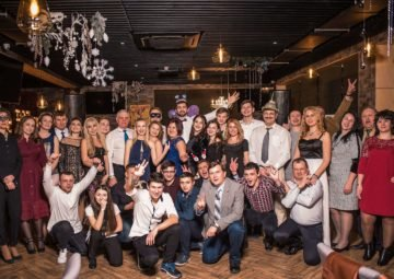 Zaliv Ship Design New Year Party 2019 in Daily Sport