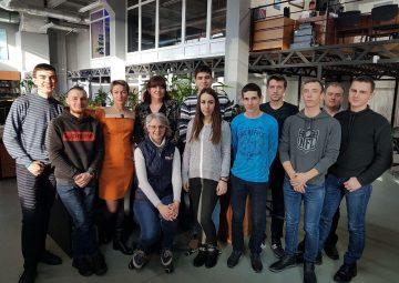 New Zaliv Ship Design engineers recent graduates from Admiral Makarov National University of Shipbuilding