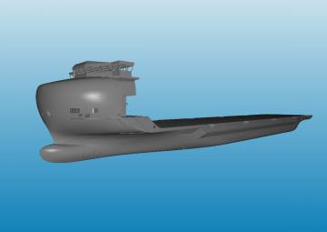 Deck Carrier (Heavy Lift Vessel) Design