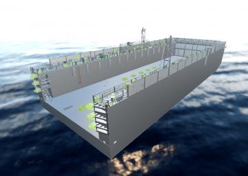 Floating dock design
